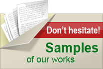 Samples - Custom Dissertation Writing